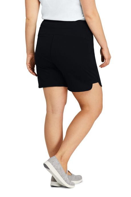 Women's Plus Size Active Pocket Shorts