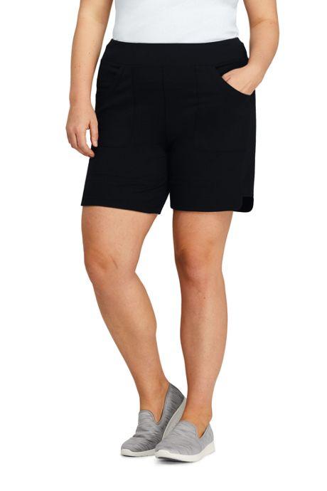 Women's Plus Size Active Pocket Shorts