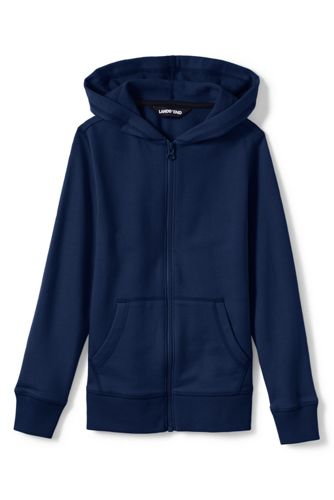 Toddler Boys' Jersey Zip-through Hoodie