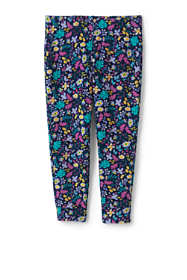 Girls Plus Iron Knee Pattern Capri Leggings
