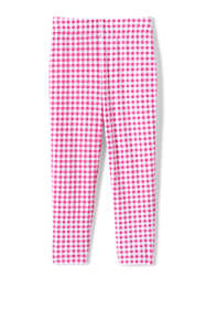 Little Girls Iron Knee Pattern Capri Leggings