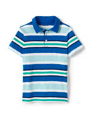 Boys Stripe Slub Polo Shirt