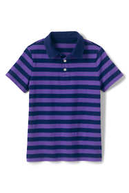 Little Boys Stripe Slub Polo Shirt