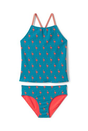 Ensemble Tankini Réversible, Fille