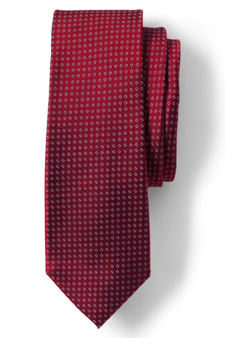 Men's Silk Square Neat Tie