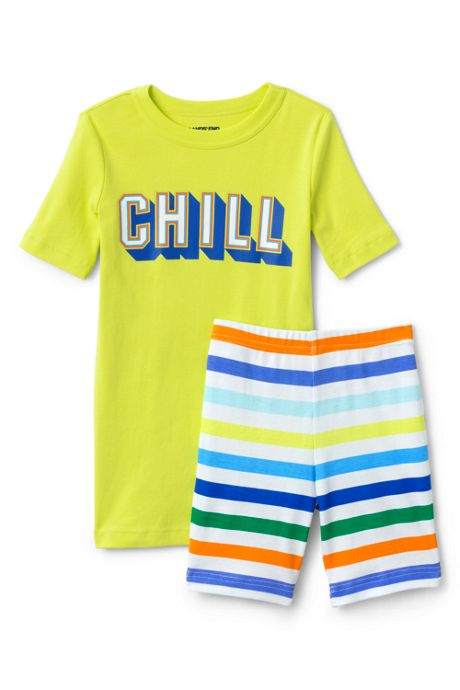 Boys Snug Fit Shorts Pajama Set