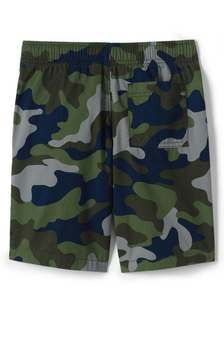 Little Boys Slim Pattern Pull On Shorts