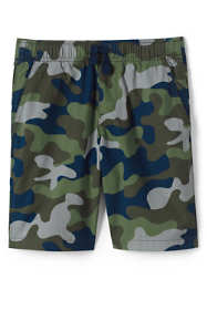 Boys Husky Pattern Pull On Shorts