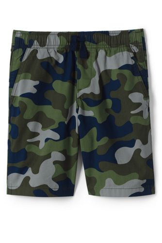 Boys' Camo Print Pull-on Shorts