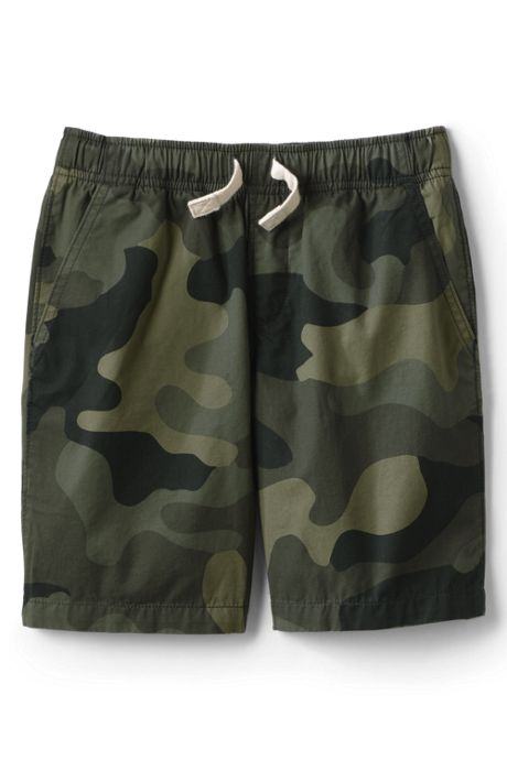 Boys Slim Pattern Pull On Shorts