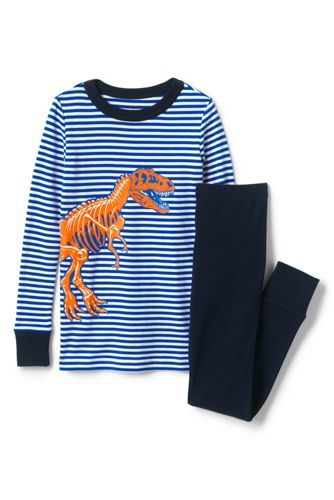 Boys' Snug-fit Cotton Pyjamas with graphic