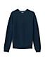 Pull Texturé Coton et Cachemire à Rayures, Homme Stature Standard