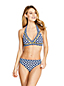 Women's Beach Living Print Halter Neck Bikini Top