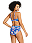 Women's Beach Living Twist Front Bikini Top, Print