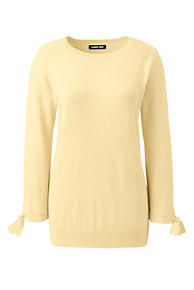 c229215ece6 Women s Plus Size 3 4 Sleeve Cotton-Cashmere Ballet Neck Sweater