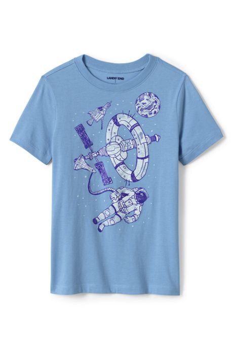 Boys Husky Graphic T Shirt