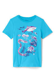 Toddler Boys Color Change Graphic T Shirt