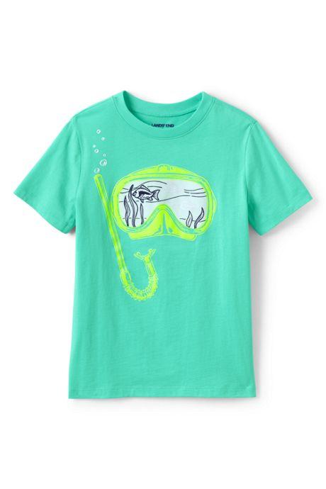 Boys Color Change Graphic T Shirt