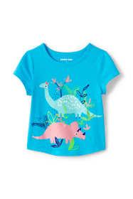 Little Girls Graphic Tee Shirt