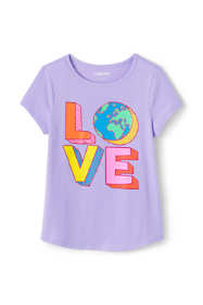 Toddler Girls Graphic Tee Shirt