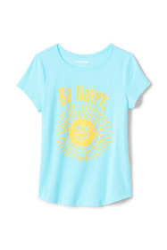 Toddler Girls Spring Graphic Tee Shirt