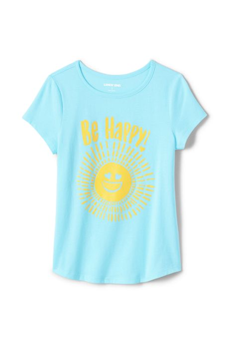 Little Girls Graphic Tee Shirt
