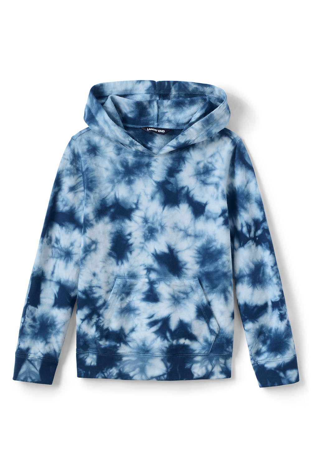 bd1c176b1 Boys Tie Dye Pullover Hoodie Sweatshirt from Lands' End
