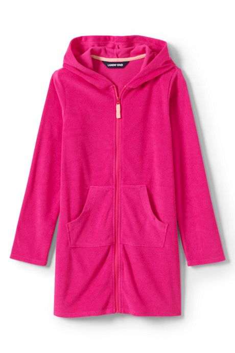 Little Girls Kangaroo Pocket Cover-Up