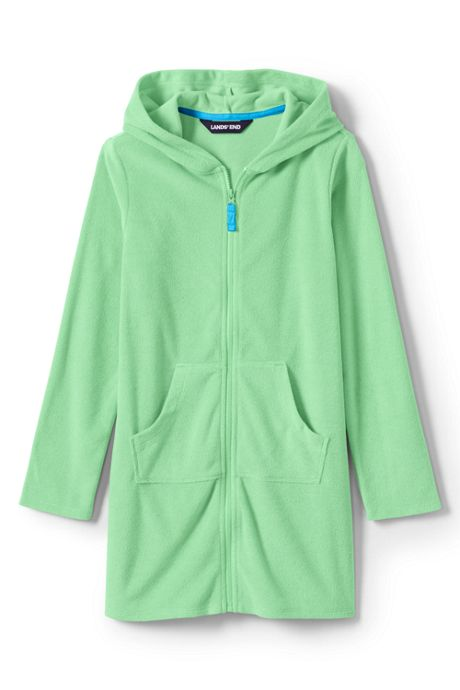 Toddler Girls Kangaroo Pocket Swim Cover-Up