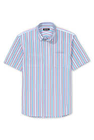 Men's Traditional Fit Short Sleeve Comfort-First Sail Rigger Oxford Shirt