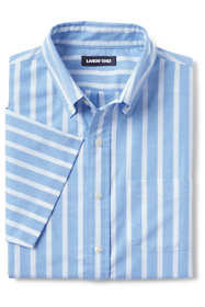 Men's Tall Traditional Fit Short Sleeve Comfort First Sail Rigger Oxford Shirt