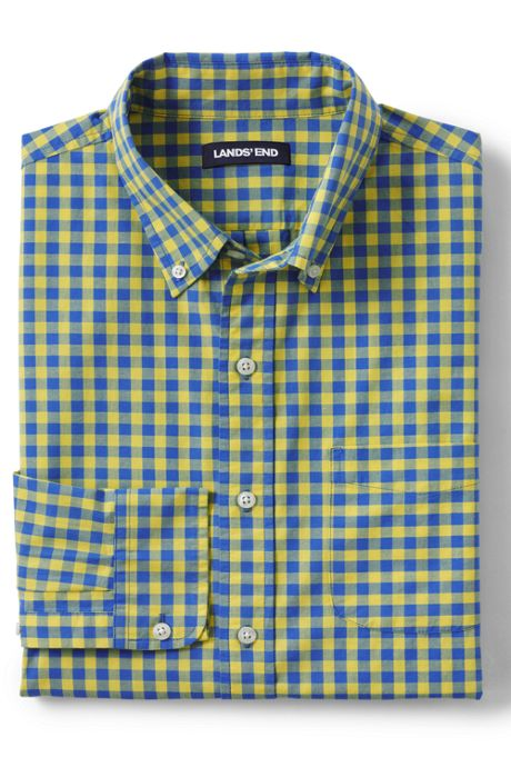 Men's Tall Traditional Fit Essential Lightweight Poplin Shirt