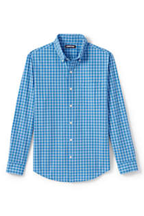 Men's Big and Tall Traditional Fit Essential Lightweight Poplin Shirt, Unknown