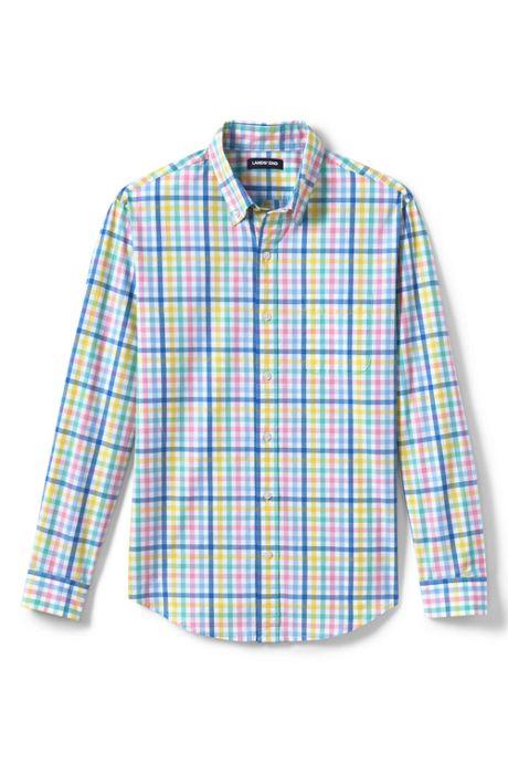 Men's Tall Traditional Fit Essential Lightweight Poplin Shirt