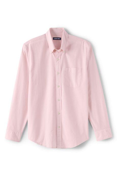 Men's Traditional Fit Essential Lightweight Poplin Shirt