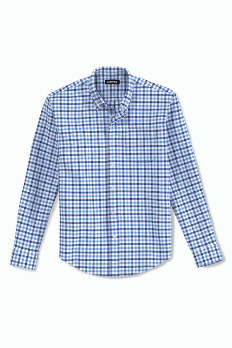 Men's Big and Tall Traditional Fit Essential Lightweight Poplin Shirt