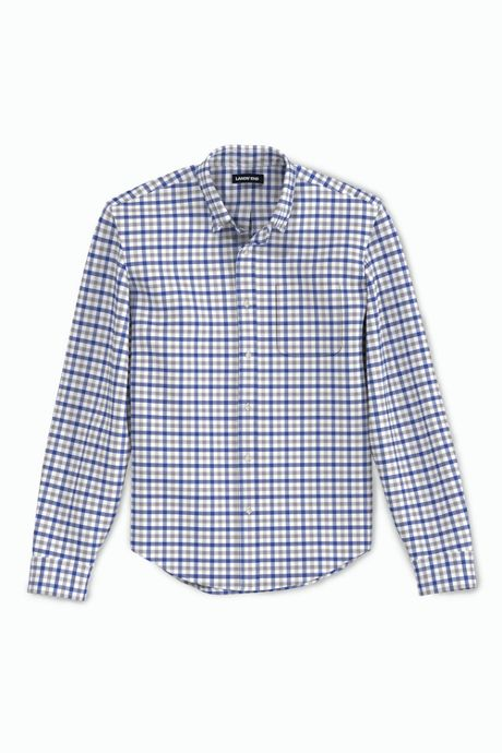 Men's Tall Tailored Fit Essential Lightweight Poplin Shirt