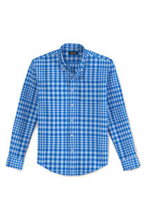 Men's Traditional Fit Essential Lightweight Poplin Shirt, alternative image