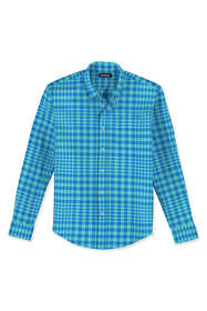 Men's Tailored Fit Essential Lightweight Poplin Shirt