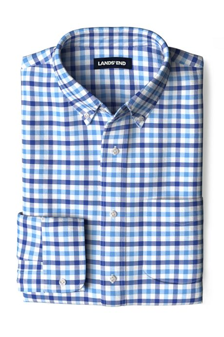 Men's Traditional Fit Essential Lightweight Poplin Shirt