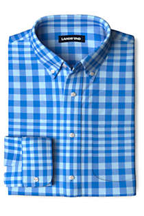 Men's Traditional Fit Essential Lightweight Poplin Shirt, Front