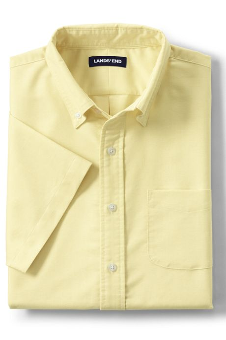 Men's Traditional Fit Short Sleeve Comfort First Sail Rigger Oxford Shirt