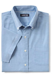 Men's Traditional Fit Short Sleeve Comfort-First Sail Rigger Oxford Shirt, Unknown