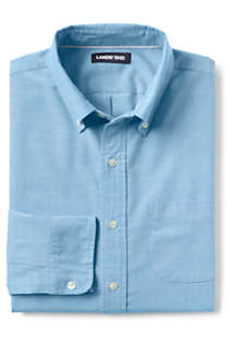 Men's Big and Tall Traditional Fit Comfort-First Sail Rigger Oxford Shirt, alternative image