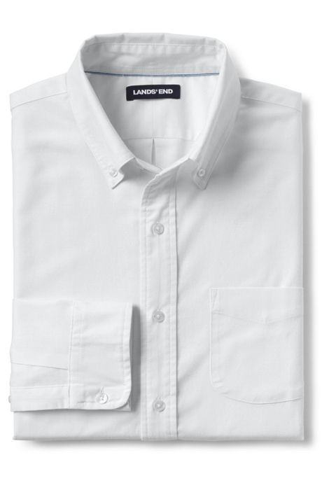 Men's Big and Tall Traditional Fit Comfort-First Sail Rigger Oxford Shirt