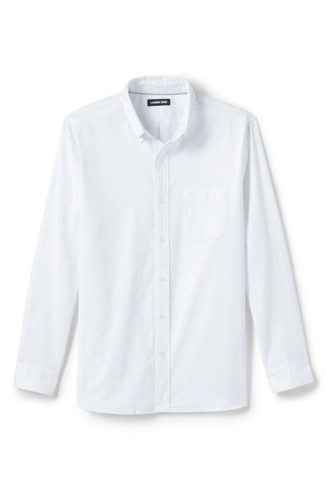 Men's Big and Tall Traditional Fit Comfort First Sail Rigger Oxford Shirt