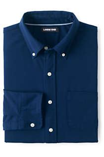 Men's Tailored Fit Comfort First Sail Rigger Oxford Shirt, Front