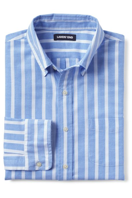 Men's Tailored Fit Comfort First Sail Rigger Oxford Shirt