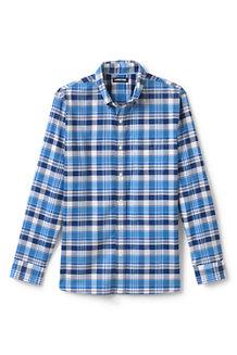 Gemustertes Komfort-Oxfordhemd für Herren, Classic Fit