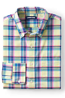 Men's Traditional Fit Comfort-First Sail Rigger Oxford Shirt, Front
